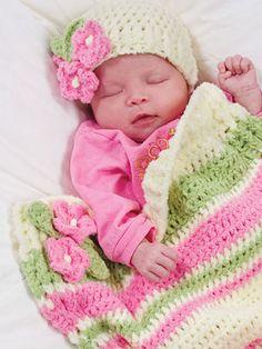 Bitty Baby Cap & Wrap