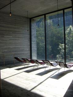 Peter Zumthor, Vals Thermal Spa, Switzerland