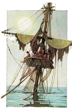 old ship mast - Google Search