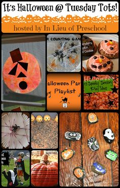 A Round-up of 10 ideas for Halloween {In Lieu of Preschool}