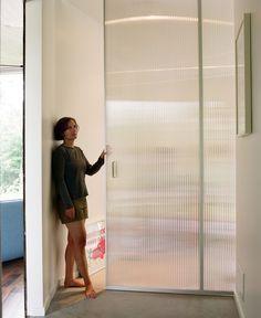 Bedrooms 12 - translucent pocket door for bedroom closets - Pesquisa Google