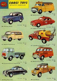 Talk Model Toys: 408 Bedford AA Road Service Van 1957 - 1963