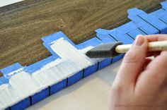 DIY Ruler Growth Chart                                                                                                                                                                                 More