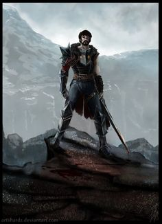 Dragon Age 2: Hawke by Artshardz.deviantart.com on @deviantART