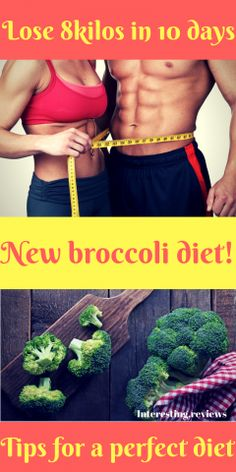 Amazing 10 day broccoli diet with a menu - Interesting Healthy Juice Drinks, Healthy Juices, Best Diet Foods, Best Diets, Broccoli Diet, Diet Recipes, Healthy Recipes, Want To Lose Weight, Health Motivation