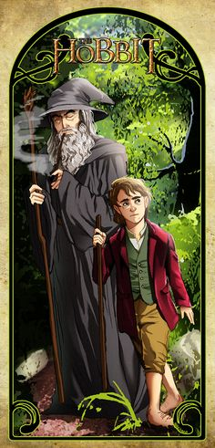 The Hobbit by alexisneo -- Curated by : Dragon Cards & Games 15-1771 Cooper Road Kelowna B.C. V1Y7T1 (250)8601770
