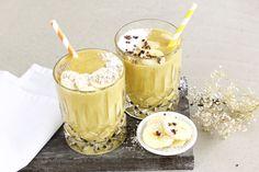 Pre- und Post-Workout: Ernährungs-Tipps mit Rezeptvorschlägen | Mango-Bananen-Kurkuma-Smoothie