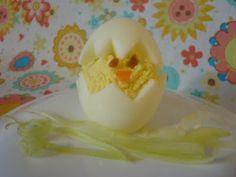Deviled Chick egg