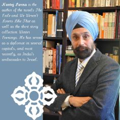 """""""I write when I can and dream about writing when I can't."""" -Navtej Sarna"""
