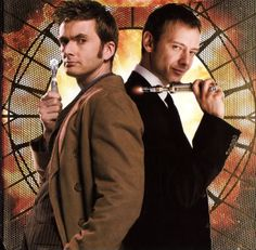 I love this picture. The Doctor and The Master