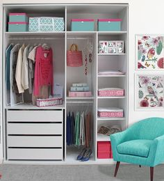 Simple Closet Ideas Diy Wardrobes New Ideas Wardrobe Design Bedroom, Bedroom Cupboard Designs, Bedroom Cupboards, Bedroom Wardrobe, Teen Room Decor, Bedroom Decor, Closet Layout, Simple Closet, Small Room Bedroom
