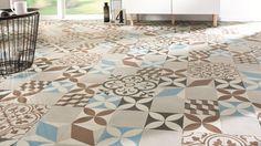 Les motifs carreaux de ciment font leur grand retour - Carreau ciment saint maclou ...