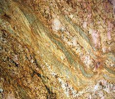 Shalimar Gold granite, close up