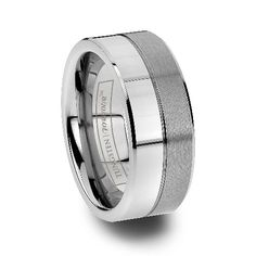 Castor Polished And Brushed Tungsten Rings For Men Tungsten Wedding Bands, Wedding Rings, Tungsten Carbide Rings, Precious Metals, Rings For Men, Polish, Engagement Rings, Jewelry, Ideas