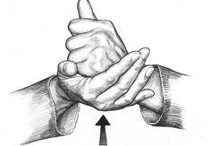 """ASL word art for """"HELP"""" #DEAF #ASL"""