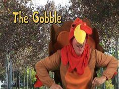 Thanksgiving Song | The Gobble | Brain Breaks |  Holiday Song | Jack Hartmann