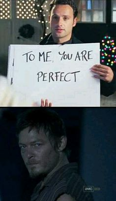 Word! The Walking Dead & Love Actually