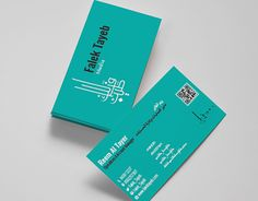 """Visiting Card for """"Falek Tayeb"""" Stationary Design, Corporate Identity, Working On Myself, New Work, Behance, Gallery, Check, Cards, Roof Rack"""