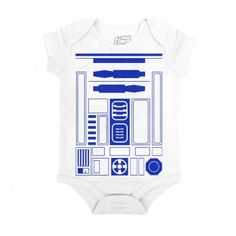 I Am R2D2 Onesie Infant Bodysuit 100% Cotton Sizing for ages 0-6months and 18-24 months $20.00 tax excl.