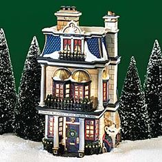 "Department 56: Products - ""Teaman & Crupp China Shop"" - View Lighted Buildings"