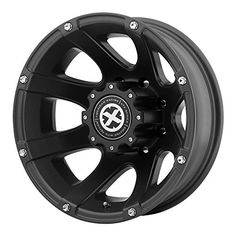 ATX Series AX189 Ledge Dually Textured Black Wheel  16x68x170mm 94mm offset * Click on the image for additional details.