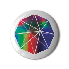 #BBOTD Stereohype #button #badge of the day by FL@33 https://www.stereohype.com/411__fl33 #Octagonal #Bipyramid #umbrella