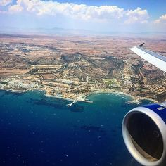 British Airways A320 leaving Larnaca in Cyprus