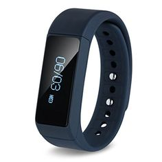 Smart Wristband Bluetooth 4.0 with Fitness Tracker Pedometer for Apple iPhone 6s Plus / Samsung Galaxy S6 Edge / LG G4 iOS Track Caller ID Display  Blue
