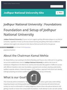 Ketan Mehta Jodhpurnationaluniversityaicte Wordpress Com #KetanMehta #JodhpurNationalUniversity #KetanMehtaJodhpurnationaluniversity