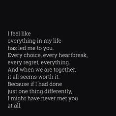 I feel like