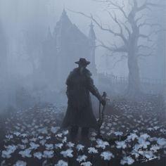 Bloodborne Concept Art, Bloodborne Art, Dark Blood, Old Blood, Dark Fantasy Art, Dark Art, Arte Dark Souls, Amoled Wallpapers, Gothic Horror