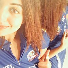 Cant make it for the match but that ain't stopping me from cheering from home!! Gooooo #MumbaiIndians!!! @mipaltan