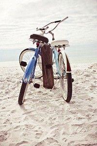 Take a bike ride on the lovely white beaches of Siesta Key, Lido Key and Longboat Key