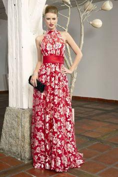 vestidos elegantes estampados florales - Buscar con Google