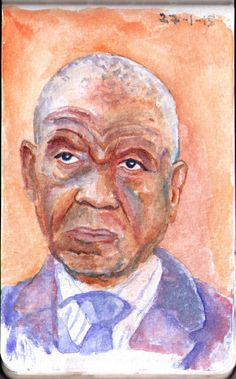 Original photo here This is Tom Thabane, the prime minister of Lesotho - a country of 2 million inhabitants. It is completely surrounded by South African territory. Sadly it would appear that the c...