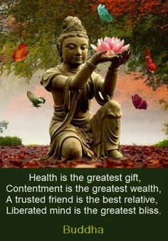 Spirituality-Network.com: Picture of the Day: Health, Wealth, Contentment and Bliss