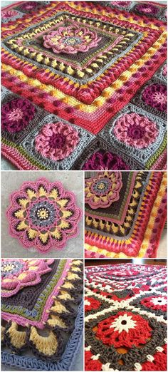 60+ Free Crochet Mandala Patterns - Page 7 of 12 - DIY & Crafts