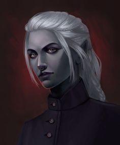 Elves Fantasy, Fantasy Rpg, Dark Fantasy Art, Fantasy Girl, Elf Characters, Dungeons And Dragons Characters, Fantasy Characters, Game Of Thrones Characters, Fictional Characters