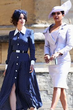 PRIYANKA CHOPRA AND ABIGAIL SPENCER. Every Fabulous Royal Wedding Guest  (From Amal to Oprah. Meghan Markle Prince HarryPrince ... 17f9b70fcbd2