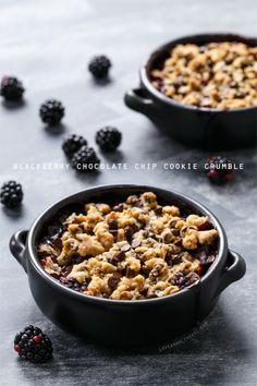 Crisp/cobbler/crumble meets oatmeal chocolate chip cookie.