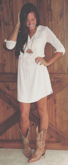 Simple cotton dress.. …