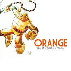 TMNT | The Orange Colored Dreamer
