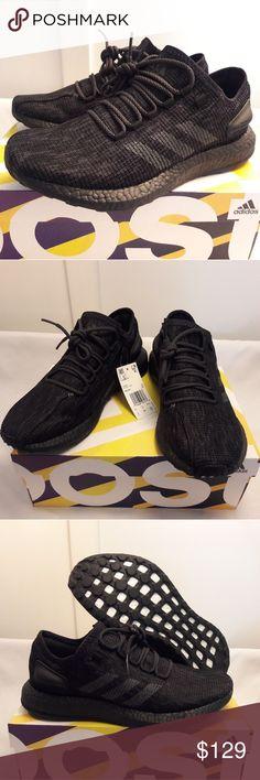 2927680fb adidas PureBOOST Running Shoe Triple Black BB6288 Size  Mens 8. Article    BB6288 Colors