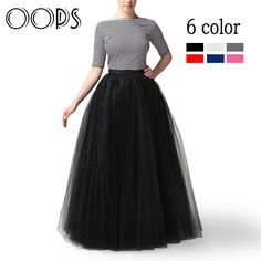 Cheap skirt mini, Buy Quality skirt lace directly from China skirt crochet Suppliers: 100cm Muslim Maxi Long Skirts Fashion 2016 Spring 3 Layers Shirt Mesh Pleated Women Ball Gown Flared Tutu Tulle Skirts