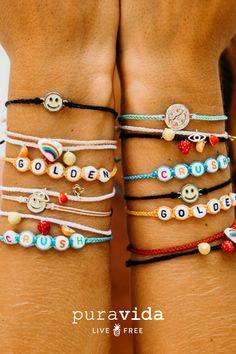 Summer Bracelets, Cute Bracelets, Summer Jewelry, Beaded Bracelets, Cute Jewelry, Beaded Jewelry, Jewlery, Granola Girl, Cute Casual Outfits