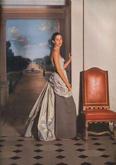 Balenciaga - Vogue November 1948 - timeless - classic only to the 20th century, otherwise....could be any period after 1935.