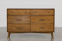 Alton Cherry Dresser - Living Spaces  $395