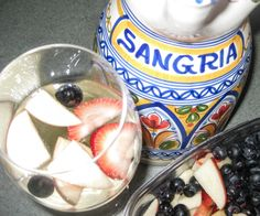 Red, White & Blue Sangria!