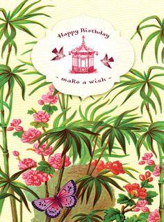 Cartolina card - Happy Birthday - make a wish CC190