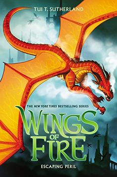 Escaping Peril (Wings of Fire, Book 8) by Tui T. Sutherland http://www.amazon.com/dp/0545685443/ref=cm_sw_r_pi_dp_HUmbwb1Z7QYB8